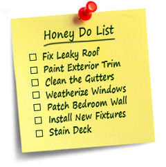 help with your honey do list